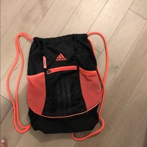 Adidas string bag - very comfy